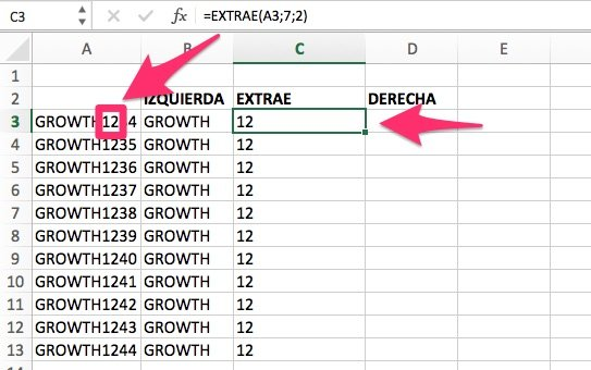 15 fórmulas excel para Agregar Superpoderes a tus Reportes de Marketing extrae