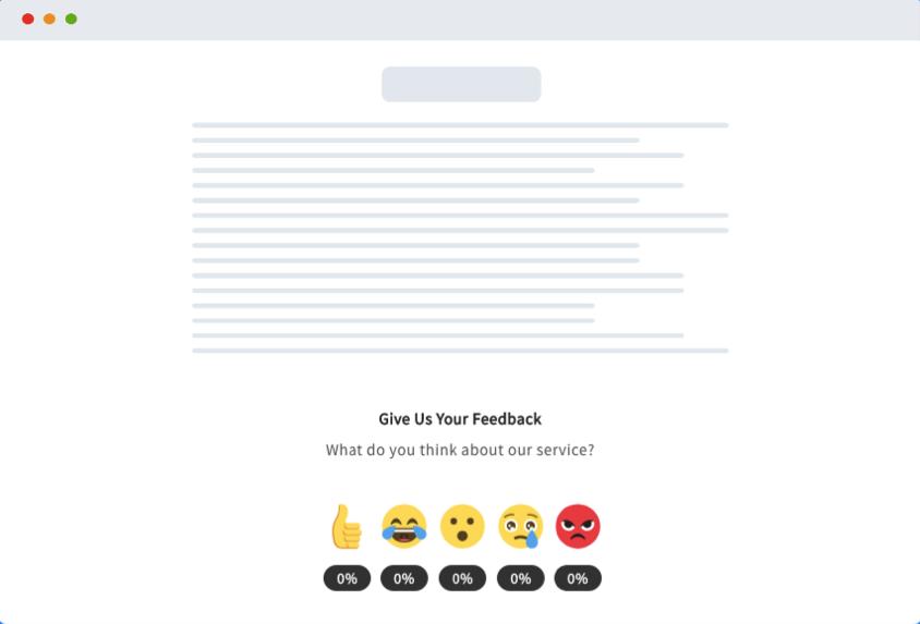 Emojics.com  Emojics.com, mide las emociones 💗 de tus Usuarios con emojis ExampleInline